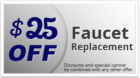 $25 off faucet replacement coupon